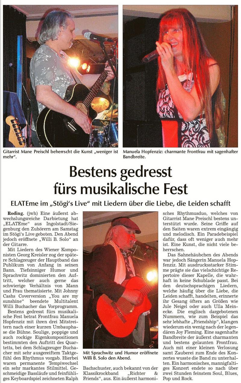 Chamer Zeitung19.04.2016