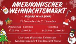 Amerikanischer Weihnachtsmarkt Neuburg
